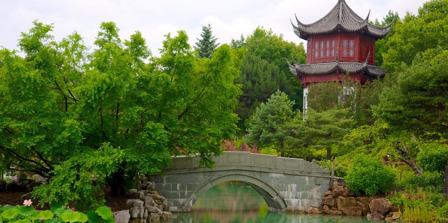 Montreal Botanical Garden Jardin Botanique De Montreal