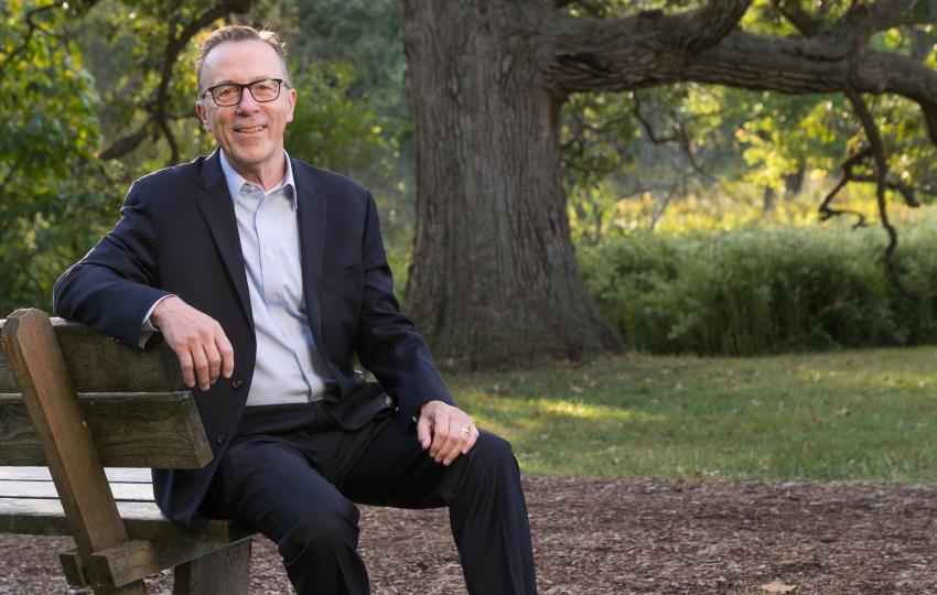 Gerard T. Donnelly at The Morton Arboretum