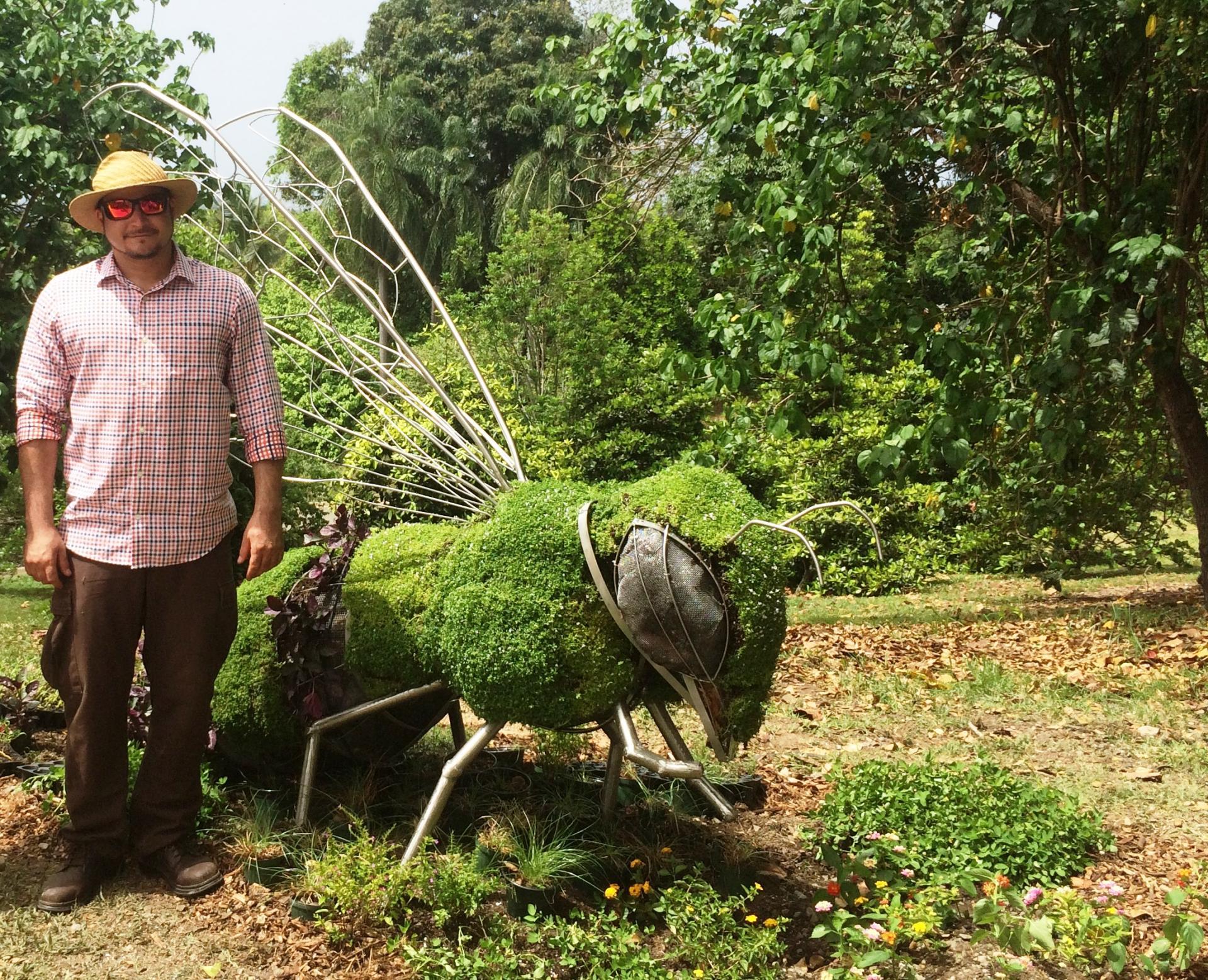 Marsh Christian Award 2018 Awarded To Christian Torres Santana American Public Gardens Association