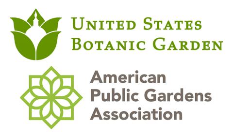 United States Botanic Garden logo, American Public Gardens Association Logo